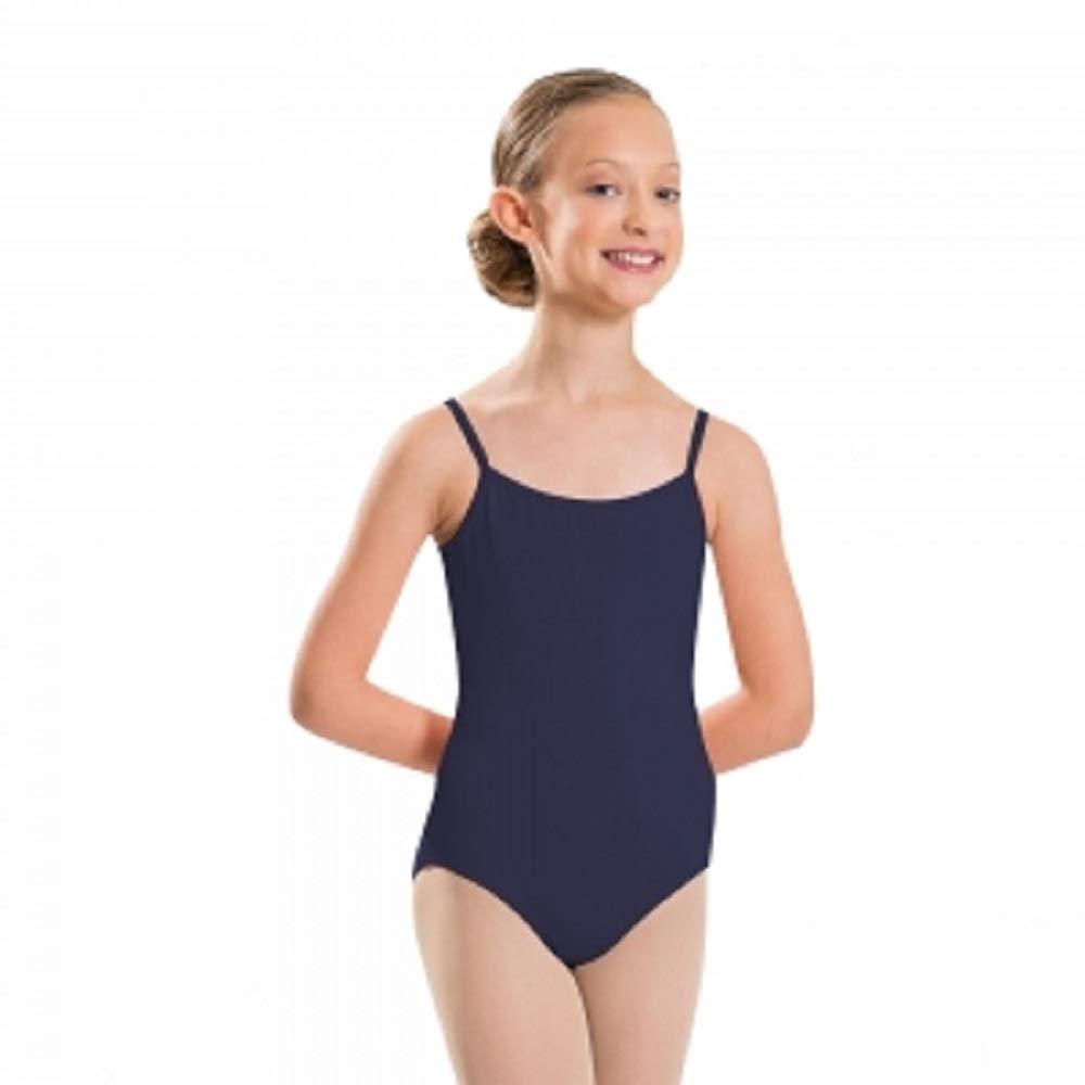 Body da donna in cotone con cinghie sottili, canottiera elastica per ragazze per danza, palestra, balletto, sport (Ref: 3315) sport (Ref: 3315)