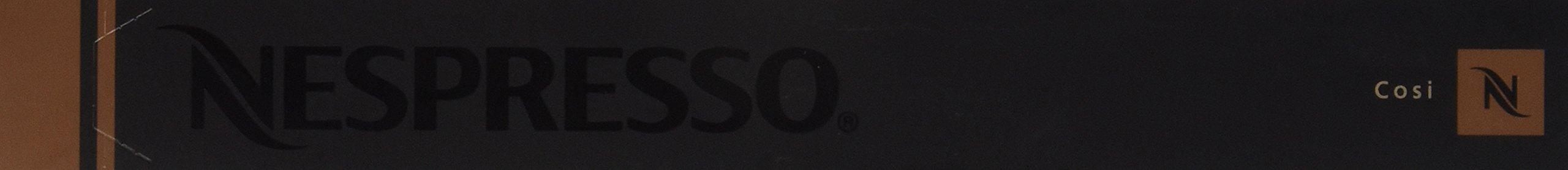 Nespresso OriginalLine: Cosi, 10 Count - ''NOT compatible with Vertuoline''