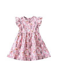 1-6T Baby Girls Dress, Changeshopping Infant Toddler Nice Soft Floral Rabbit Clothes