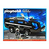 PLAYMOBIL Tactical Unit Command Vehicle Building Kit