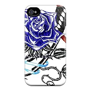 Case For Iphone 5/5S Cover Case Slim [ultra Fit] Rose Dagger Protective Case Cover
