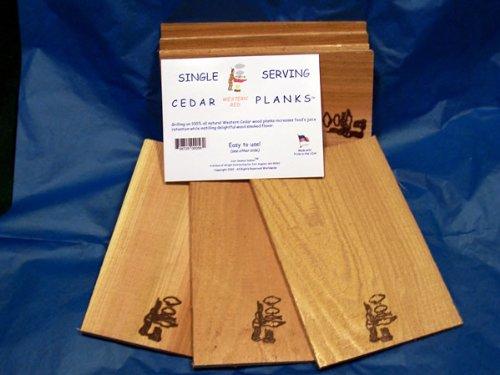 Single Serving Cedar Planks pack product image