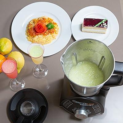 Robot de cocina multifunción que cocina y tritura. 2,8 litros de ...