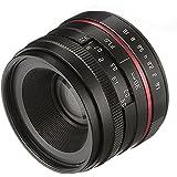 Fotga 36mm F/1.6 Manual Focus MF Prime Lens for Panasonic Olympus Micro 4/3 Mount MFT GH1 GH2 GH3 GH4 GH5 GH5s E-PM1 E-PM2 E-PL1 E-PL2 E-PL3 E-M10 Mark II III Dslr Cameras