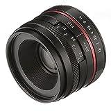 FOTGA 36mm F/1.6 Manual Focus MF Prime Lens for Canon EOS EF-M Mount M M2 M3 M5 M6 M10 M50 M100 Dslr Cameras