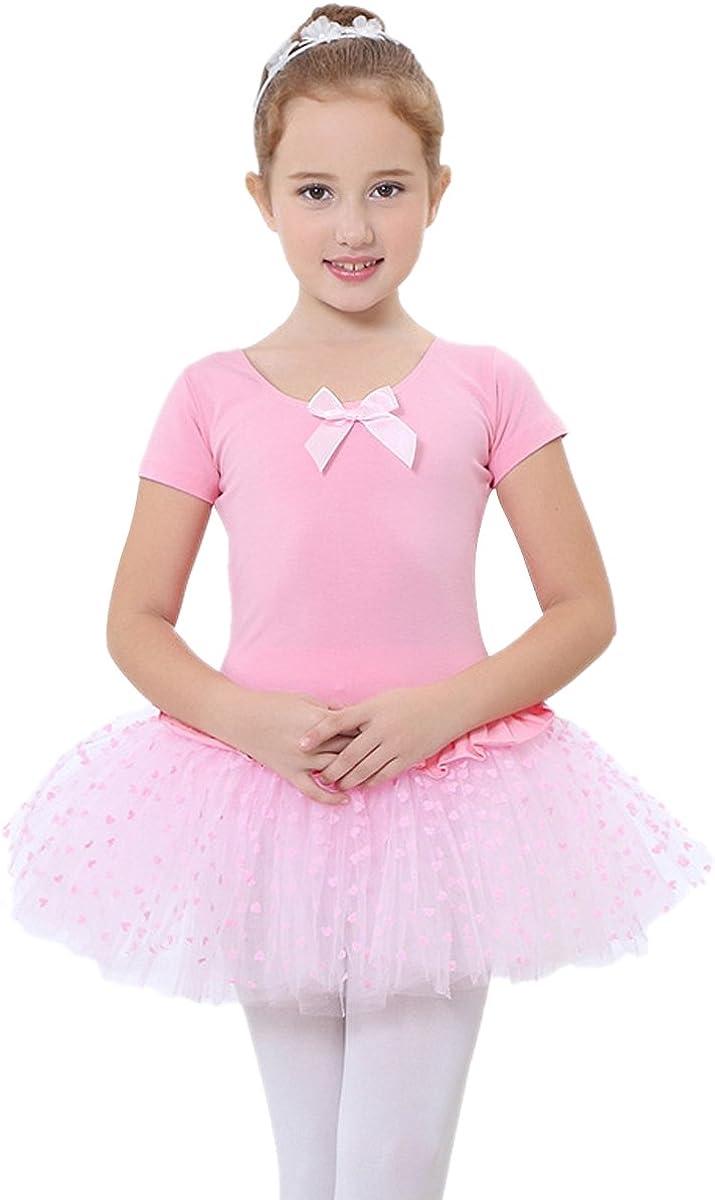 Happy Cherry - Traje de Danza Ballet para Niñas Vestido Falda ...