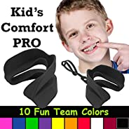 Kid's Comfort PRO Youth Double Sports Mouth Guard Works with or Without Br
