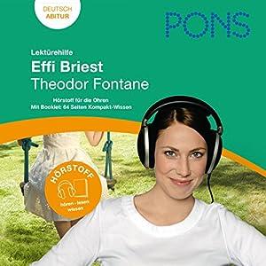 Effi Briest - Fontane Lektürehilfe. PONS Lektürehilfe - Effi Briest - Theodor Fontane Hörbuch
