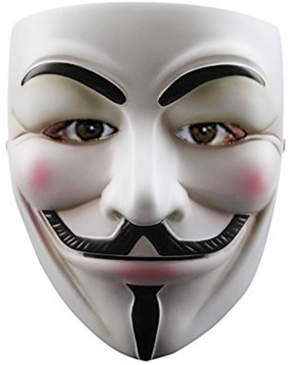 ZLLJH Guy Fawkes Halloween Costume V for Vendetta Mask Anonymous Fancy Cosplay by ZLLJH