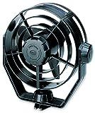 HELLA 003361002 12V Black 2-Speed Turbo Fan