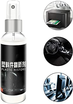 Plastic Parts Retreading Agent Wax Instrument Panel Wax Reducing Agent For Car