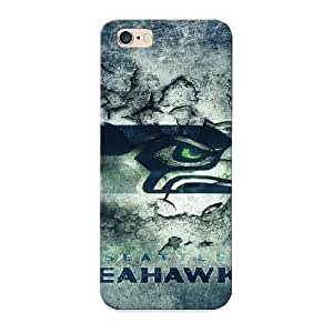 Defender Case With Nice Appearance (seattle Seahawks Cement) For Iphone 6 Plus / Gift For New Year's Day