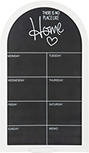 TheJD Blackboard Monthly Planner Vintage Framed Chalkboard Decorative Chalk Board for Rustic Wedding Signs, Kitchen Pantry & Wall Decor_002