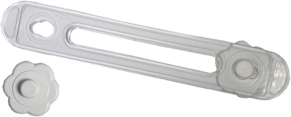 Cierre de seguridad para armarios y cajones color blanco BriKids B20510B