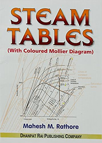 Amazon in: Buy Steam Tables (with Coloured Mollier Diagram) Book