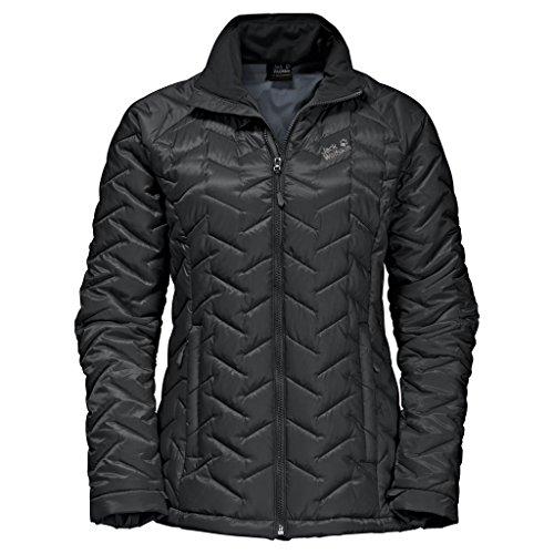 Jack Wolfskin Women's ICY Creek Jacket, Black, XX-Large