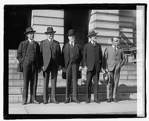 HistoricalFindings Photo: Root,Underwood,Hughes,Lodge,Mills,American Politicians,October 1921