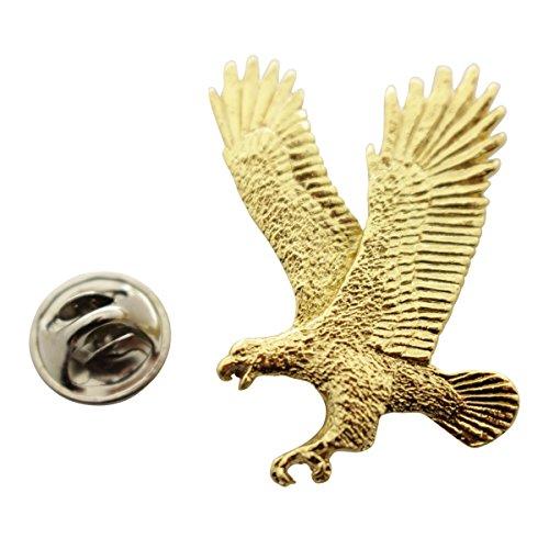 Sarah's Treats & Treasures Flying Eagle Pin ~ 24K Gold ~ Lapel Pin