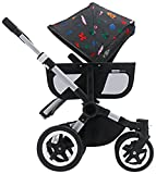 Bugaboo Donkey Tailored Fabric Set – Andy Warhol Bugs (Discontinued by Manufacturer) For Sale