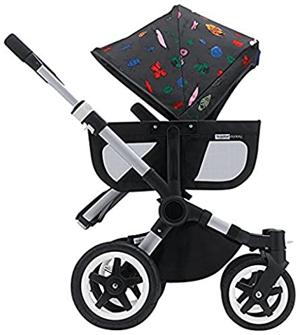 Bugaboo Donkey Tailored Fabric Set - Andy Warhol Bugs (Special Edition) (Donkey Twin)
