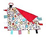 Lovey Heart Warrior CHD Awareness Comfort Security Tag Blanket