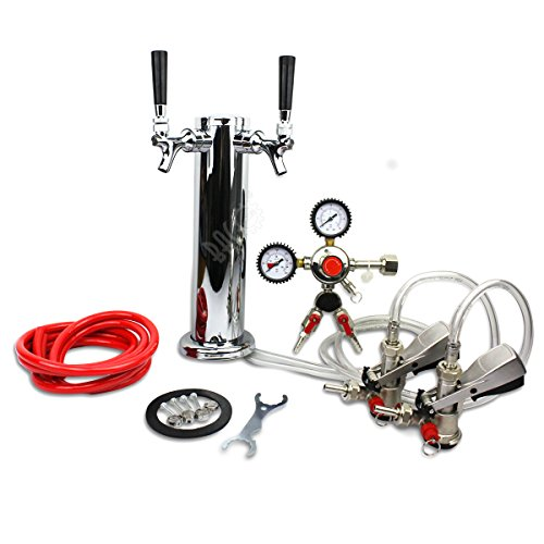 BACOENG Double Faucet Tower Keg System No