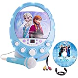 Frozen Disney Disco Party CD+G Karaoke with Light