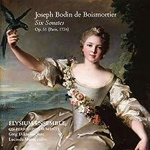 Joseph Bodin de Boismortier: Six Sonates, Op. 51