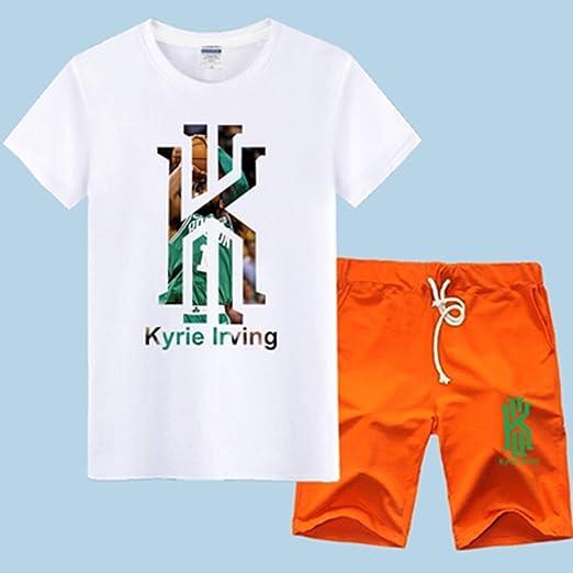 LLSDLS Camiseta NBA Jersey Set Boston Celtics Kyrie Irving ...