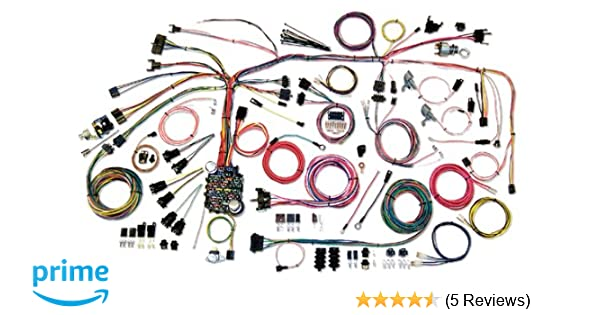 Amazon American Autowire 500661 Wire Harness System For 6768 Rhamazon: 67 Camaro American Autowire Wiring Diagram At Gmaili.net