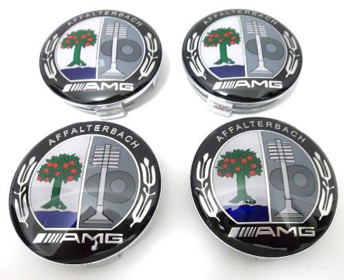 set-of-4-x-amg-color-wheel-center-caps-emblems-mercedes-benz-75mm-new