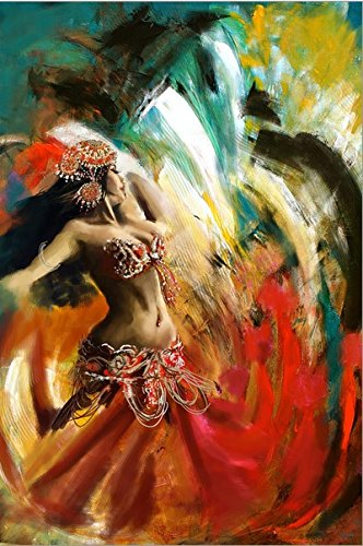 amazon com belly dancer oil painting famous oil painting