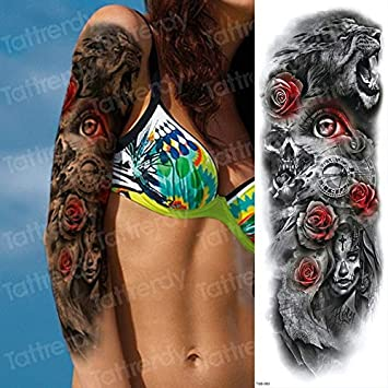 4 UNIDADES, tatuaje temporal, etiqueta, brazo, mujer, tatuaje ...