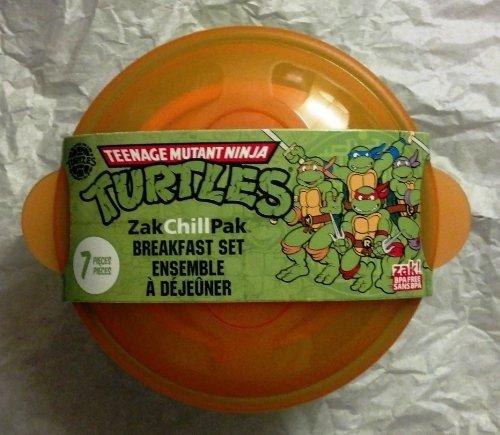Teenage Mutant Ninja Turtle ~ 7 pieces Breakfast Set by Nickelodeon