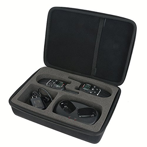Case Radio Accessories - Khanka Hard Case for Motorola MH230R 23-Mile Range 22-Channel FRS/GMRS Two-Way Radio (Pair)