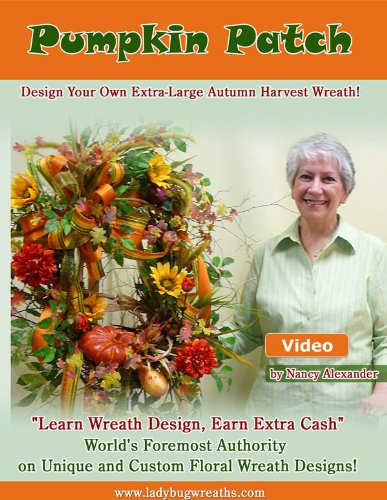 "Make Fall Outdoor Wreath for Your Door With ""Pumpkin Patc..."