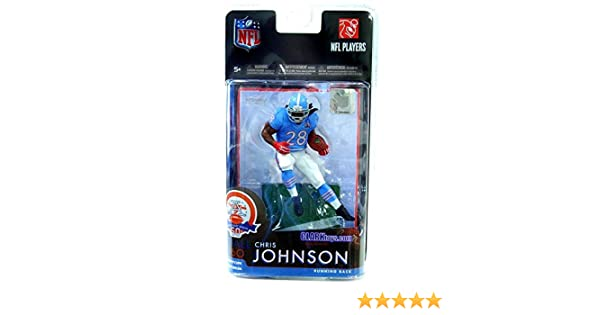 d40db3e0 McFarlane Toys NFL Sports Picks Exclusive Action Figure Chris Johnson  (Tennessee Titans) Houston Oilers AFL Jersey