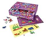 Fuzzy Felt Celebration Kids Imagination Enhancement Games Indoor Activities Set