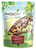 #8: Food to Live Organic Brazil Nuts (Raw, Unshelled, Kosher) — 1 Pound
