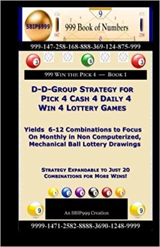 D-D-Group Strategy for Pick 4 Cash 4 Daily 4 Win 4 Lottery