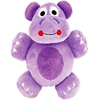 Gummi Pet Products Hippo Dog Toy, Purple Large