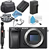Sony Alpha a6300 Mirrorless Digital Camera (Black) ILCE6300/B Base Bundle