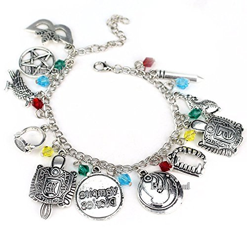 The Vampire Diaries Charm Bracelet - Katherine Bracelets Jewelry Merchandise Costume Gift for -