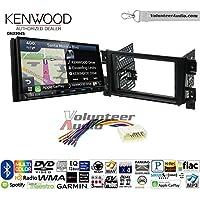 Volunteer Audio Kenwood Excelon DNX994S Double Din Radio Install Kit with GPS Navigation Apple CarPlay Android Auto Fits 2006-2013 Suzuki Grand Vitara