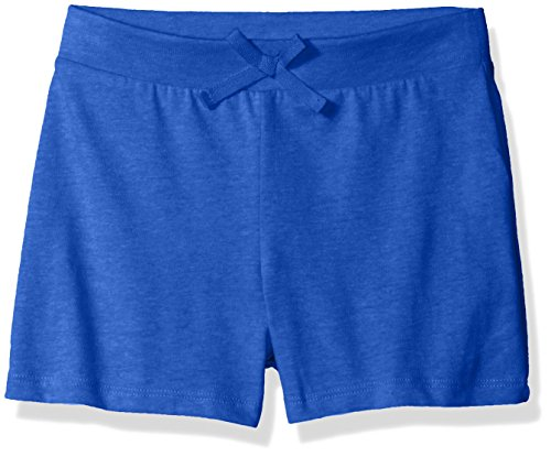 The Children's Place Big Girls' Solid Tassle Shorts, Deep Space, X-Large/14