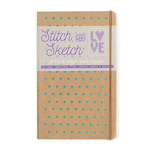 Turquoise Stitch (OOLY, Stitch & Sketch Notebook, Turquoise)