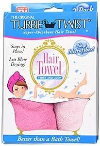 Amazon Com Turbie Twist Microfiber Hair Towel 2 Pack