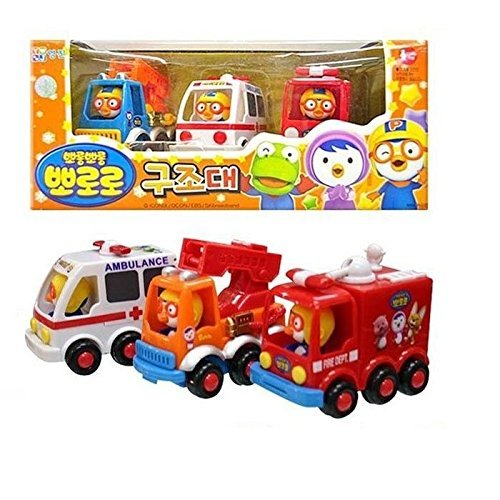 Pororo Rescue Play Toy Car, Model: , Toys & Gaems