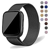 Oitom Compatiable Metal Bands Replacement for Fitbit Versa Smartwatch