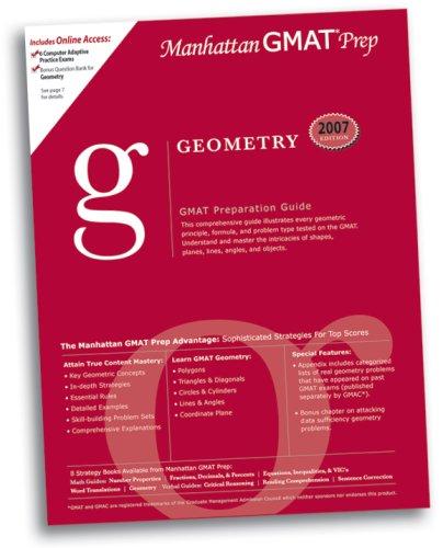Geometry GMAT Preparation Guide (Manhattan GMAT Preparation Guide: Sentence Correction)